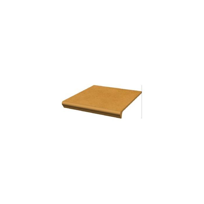 Текстура плитки Aquarius Beige Stopnica Prosta z kapinosem 30x33