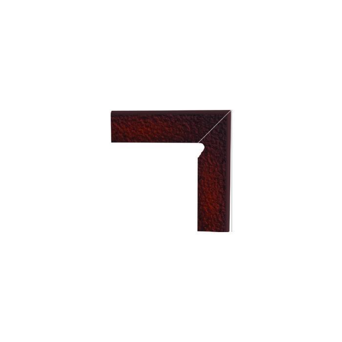 Текстура плитки Cloud Brown Cokol Duro Dwuelementowy prawy  комплект 8.1x30