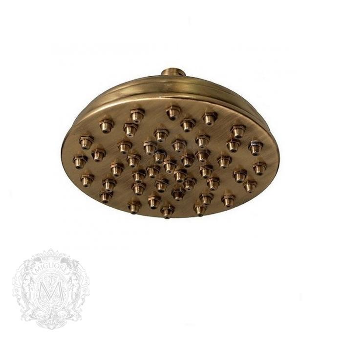 Фото сантехники Firenze Верхний душ 200мм, бронза