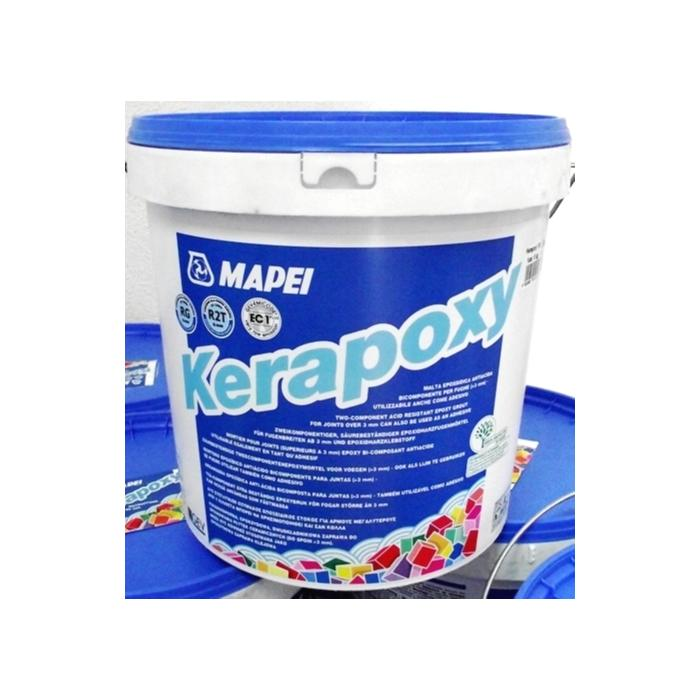 Строительная химия Kerapoxy №111  2 кг эпоксидный шовный заполнитель цвет светло-серый