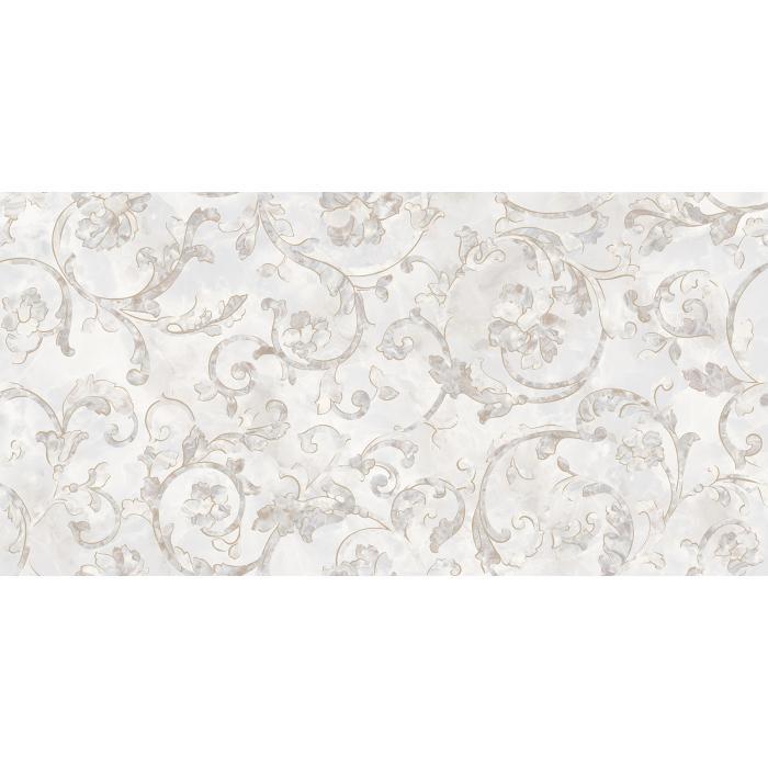 Текстура плитки Emote Decoro Floreale Onice Bianco 39x78