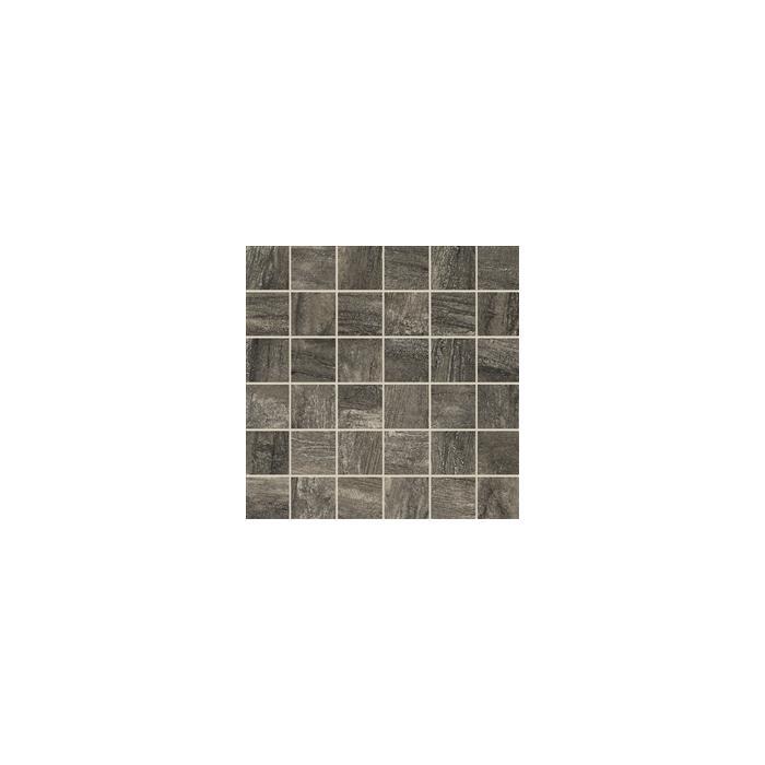 Текстура плитки Icon Mosaico Charcoal (Tes 5x5) Lap.Ret. 30x30