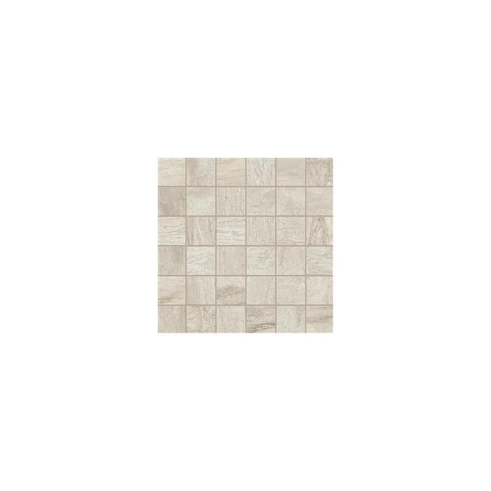 Текстура плитки Icon Mosaico Oyster (Tes 5x5) Lap.Ret. 30x30
