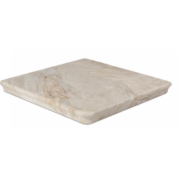 Текстура плитки Sea Rock Peldano Angular Florentino Marfil 33x33 - 2