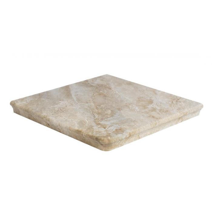 Текстура плитки Sea Rock Peldano Angular Florentino Caramel 33x33 - 2