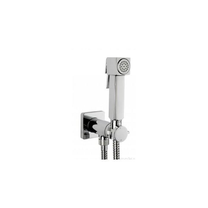 Фото сантехники Гигиенический душ с прогрессивным смесителем, чрный матовый