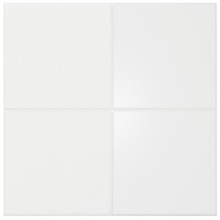 Текстура плитки Iso White Squares 30x30