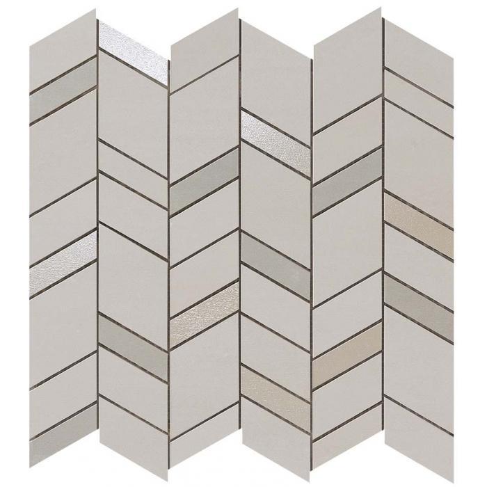 Текстура плитки Mek Medium Mosaico Chevron Wall 30,5x30,5