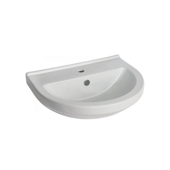 Фото сантехники S50 Раковина 60 см, цвет белый
