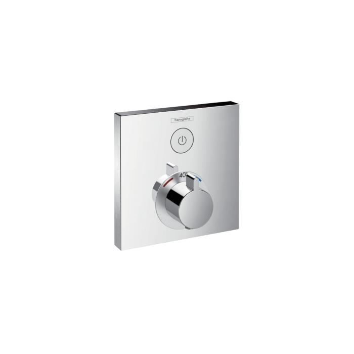 Фото сантехники Shower Select Термостат с запорным вентилем, цвет хром