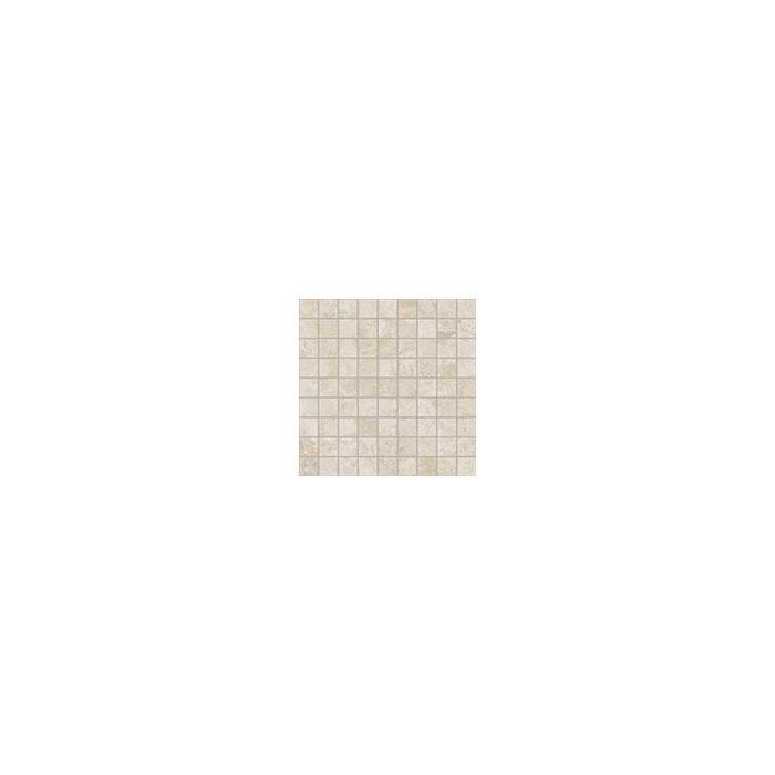 Текстура плитки Сиена Белый Вставка Мозаика 30x30