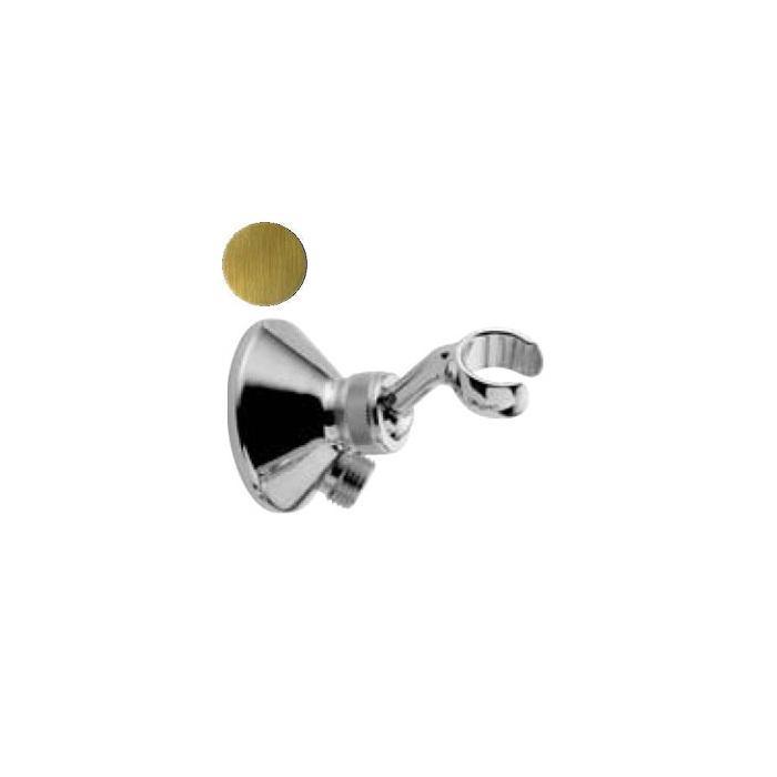 Фото сантехники Ricambi Держатель для лейки с отводом воды 1/2, цвет бронза