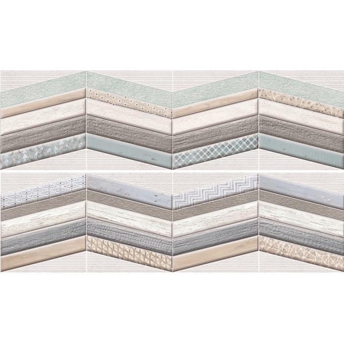 Текстура плитки Decor Chevron 29x100 - 2