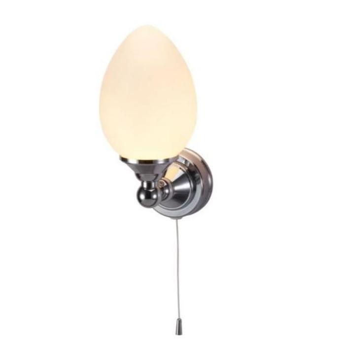 Фото сантехники Edwardian Светильник одинарный, овальный, цвет хром