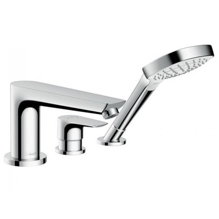 Фото сантехники Смеситель на край ванны, на 3 отверстия