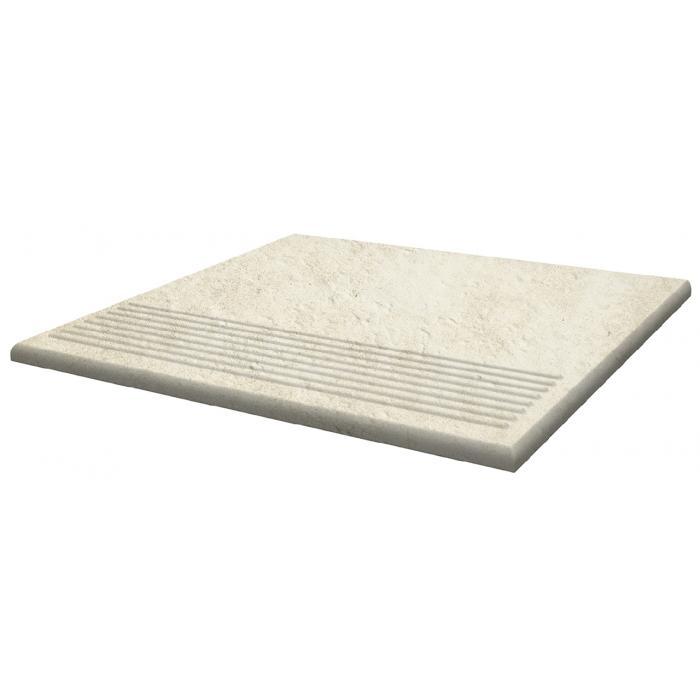 Текстура плитки Scandiano Beige Stopnica 30x30