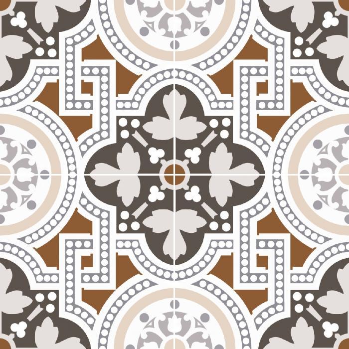 Текстура плитки Seaford Brown 45x45 - 2
