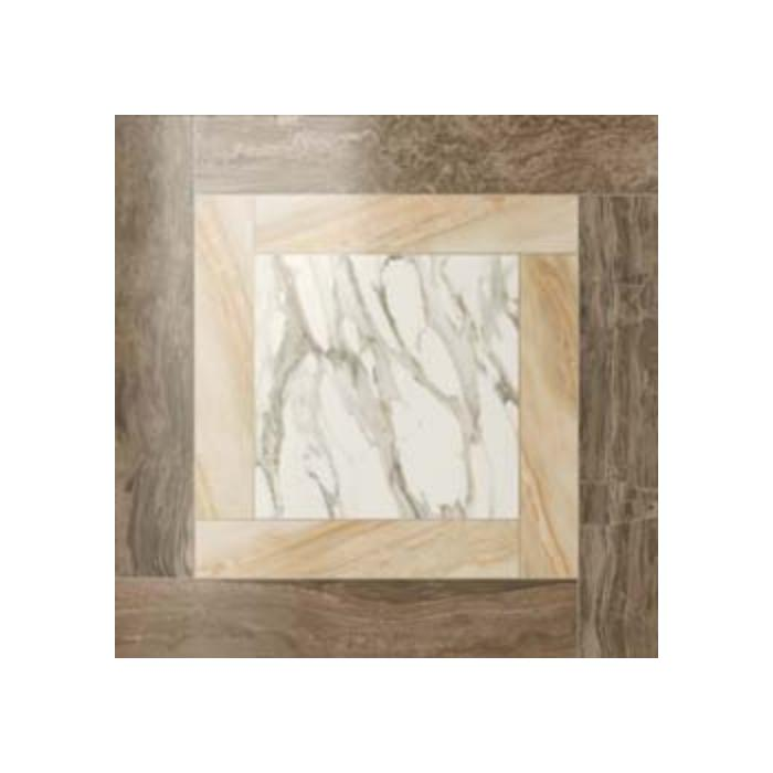 Текстура плитки S.M. Calacatta Gold Cassetone Lap. Rett 59x59