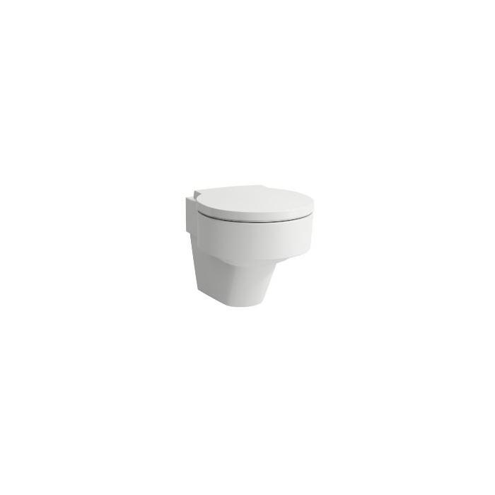 Фото сантехники Val Унитаз подвесной безободковый h45x55x40, цвет белый
