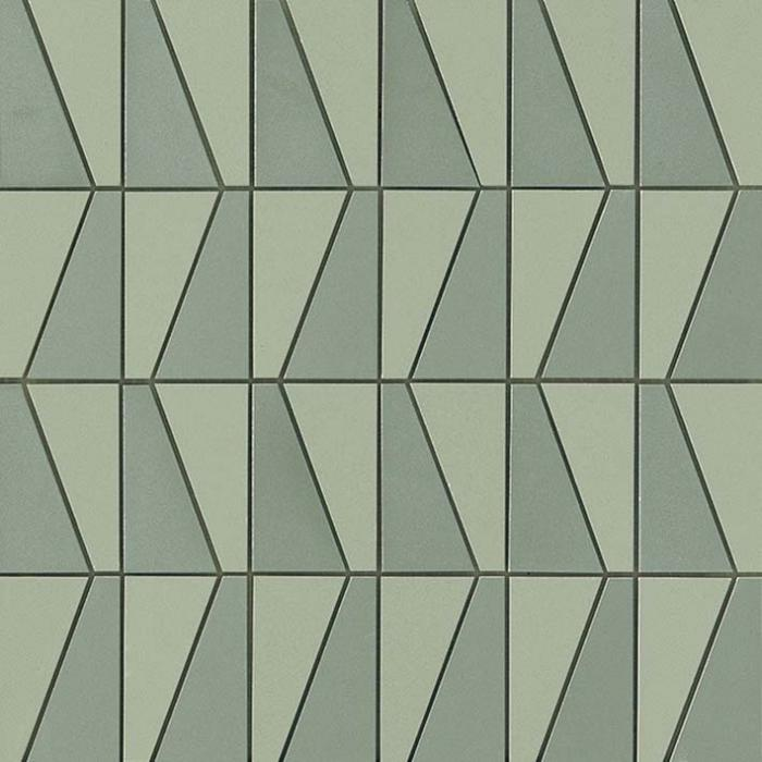 Текстура плитки Arkshade Sage Mosaico Sail 30,5х30,5
