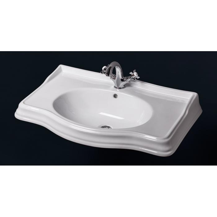 Фото сантехники Borgo Раковина 83х52 см, для мебели Vivo 80, белый