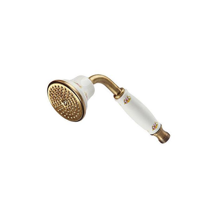Фото сантехники Provance Ручной душ, керамика с декором/бронза