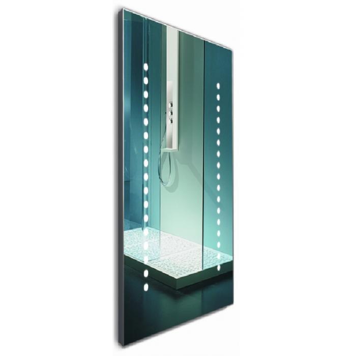Фото сантехники Мир стекла Зеркало ML-109, 400 х 1000 мм, с подсветкой, выключателем, на раме