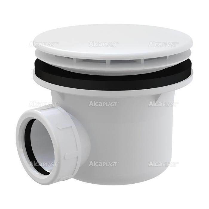 Фото сантехники Alcaplast Сифон для душевого поддонa d=90мм, белый