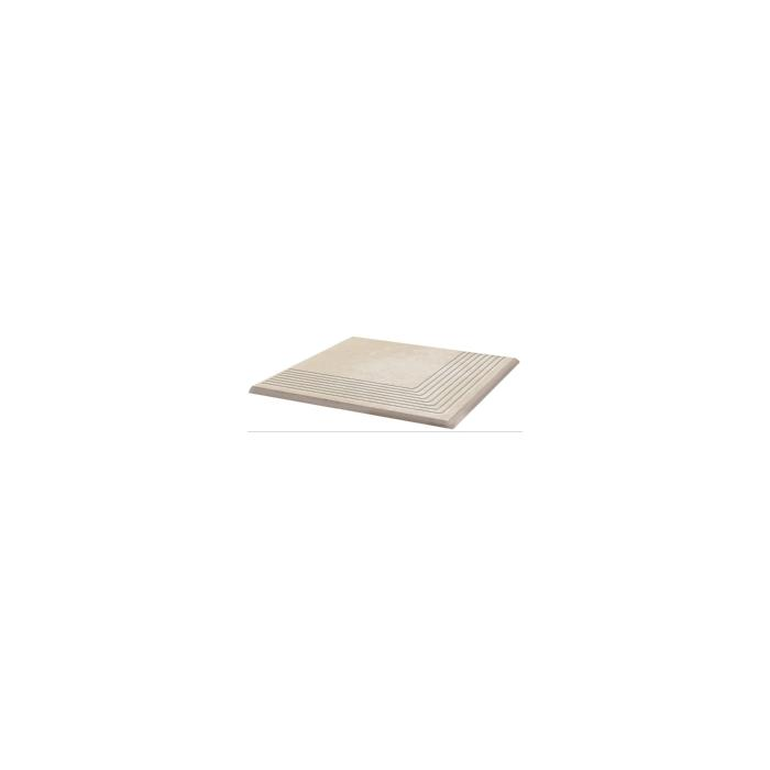 Текстура плитки Cotto Crema Stopnica Narozna 30x30