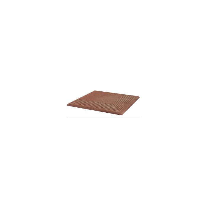 Текстура плитки Cotto Naturale Stopnica Narozna 30x30