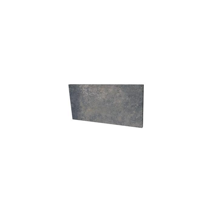 Текстура плитки Viano Antracite Podstopnica 14.8x30