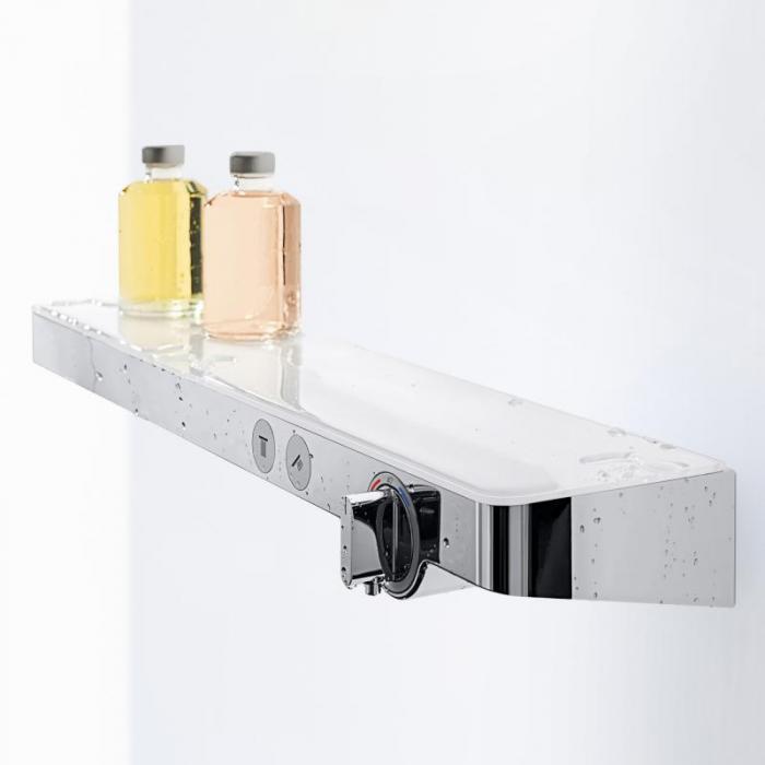 Фото сантехники Rainmaker Термостат ShowerTabletSelect 700, полочка белая