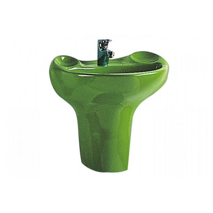 Фото сантехники Arkitekt Раковина детская 55см, цвет зеленый