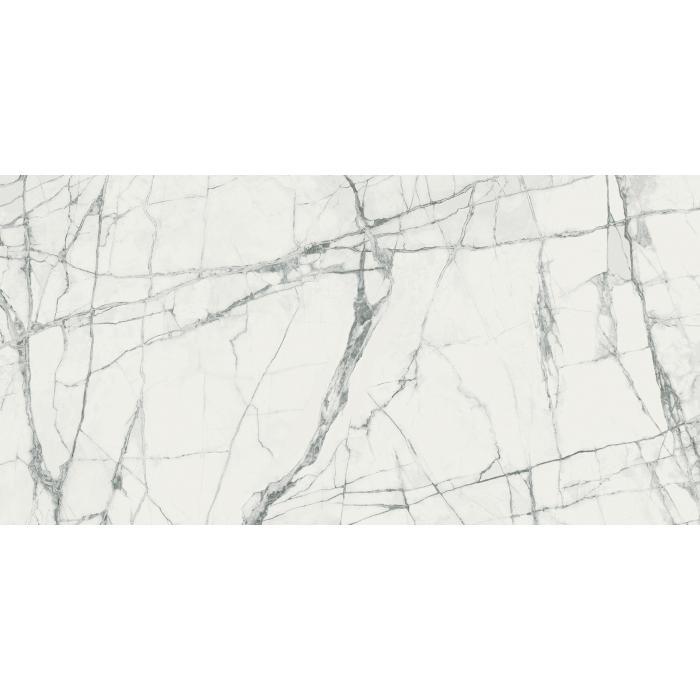 Текстура плитки Шарм Делюкс Инвизибл Уайт 80x160 Рет