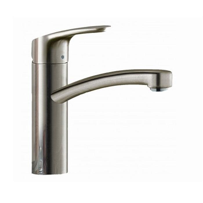 Фото сантехники Focus E2 Смеситель для кухни однорычажный, цвет сталь