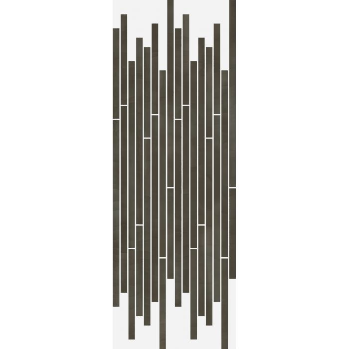 Текстура плитки Серфейс Амбра Стрип Люкс Ретт. 26x75 (0,157м2)