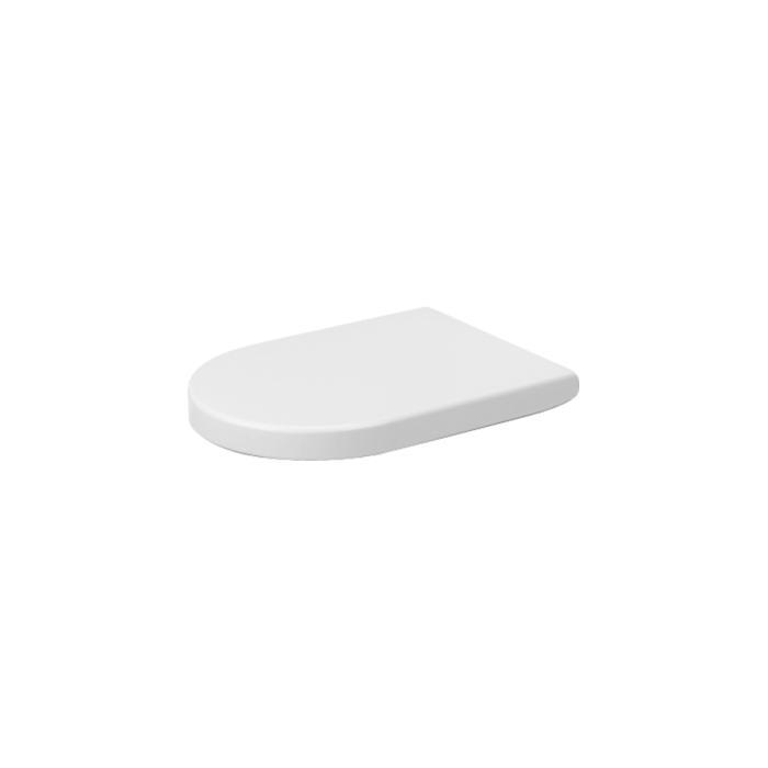 Фото сантехники Starck 2 Сиденье для унитаза с микролифтом, цвет белый