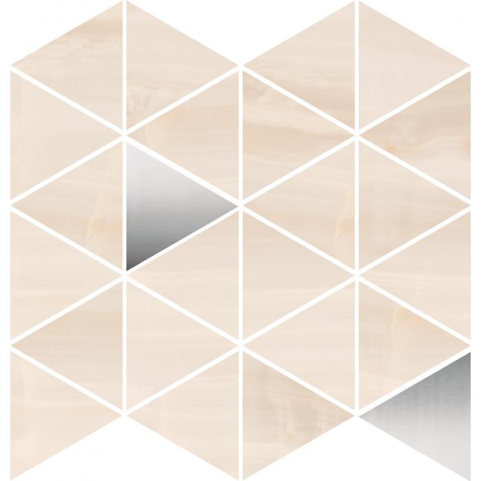 Текстура плитки D.Lumina-B Triangle/ 29.3x29.3