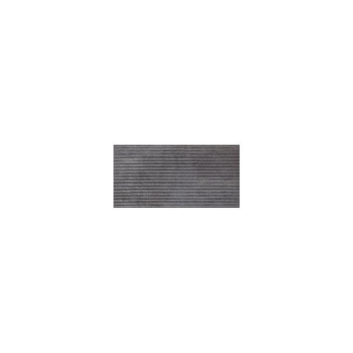 Текстура плитки Bazalto Grafit B Podstopnica Struktura 14.8х30