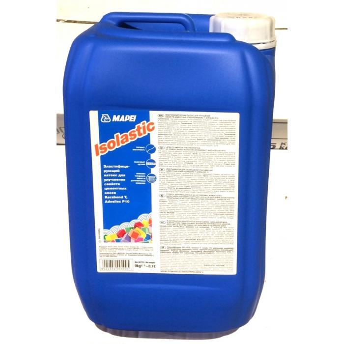 Строительная химия Isolastic  9 kg  латексная добавка для клея