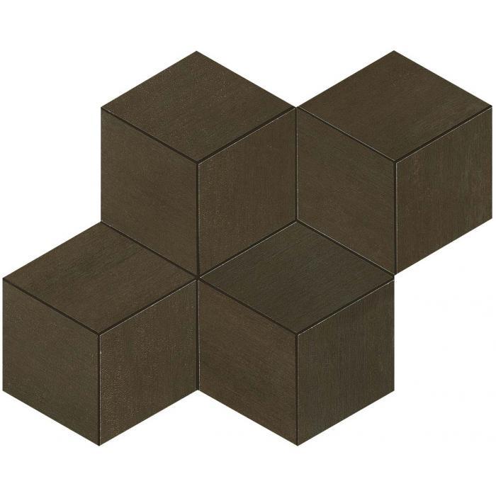 Текстура плитки Mek Bronze Mosaico Esagono 30x35