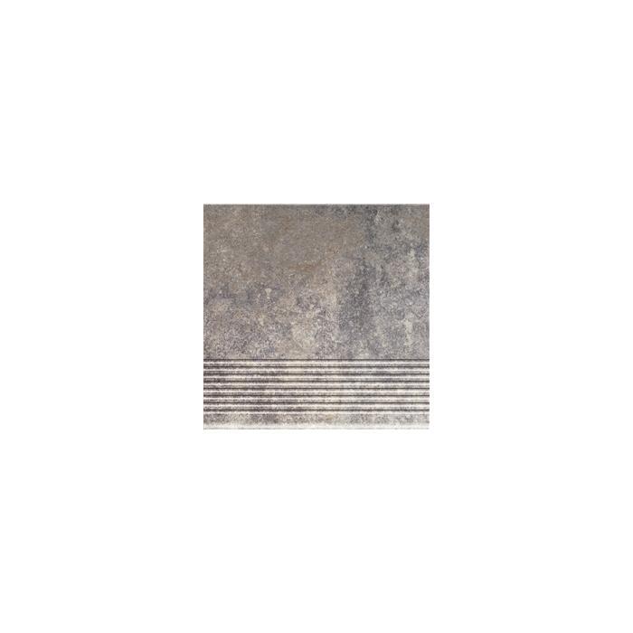 Текстура плитки Viano Grys Stopnica 30x30