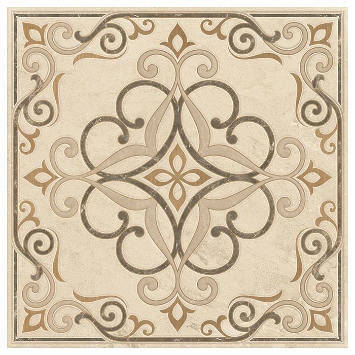 Текстура плитки Beige Experience Rosone Crema Lap Rett 59.5x59.5