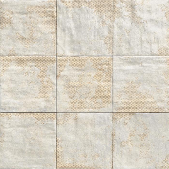 Текстура плитки Mandala White 20x20