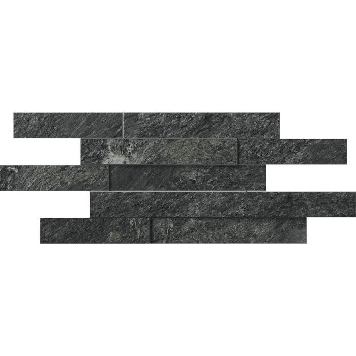 Текстура плитки Ска.Неро Брик Пат 3D 28x78