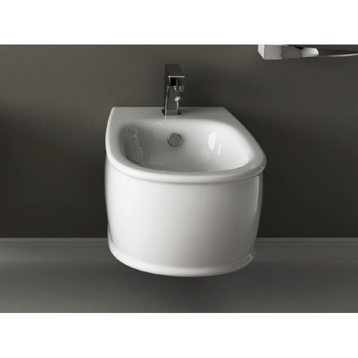 Фото сантехники Azuley Биде подвесное 36x52см , цвет белый - 2