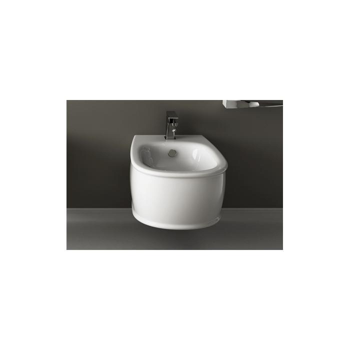 Фото сантехники Azuley Биде подвесное 36x52см , цвет белый