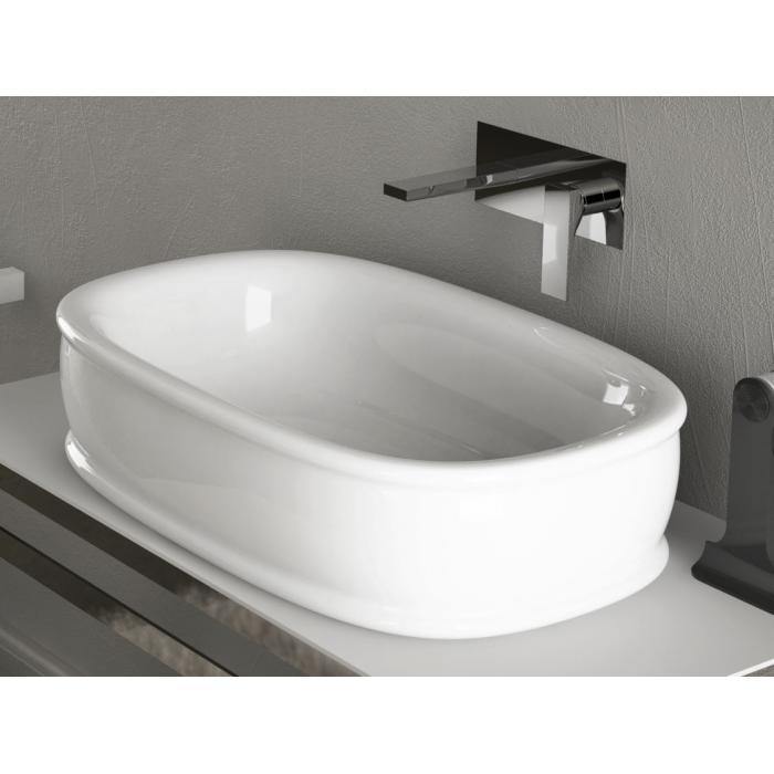 Фото сантехники Azuley  Раковина накладная 65х45см , цвет белый