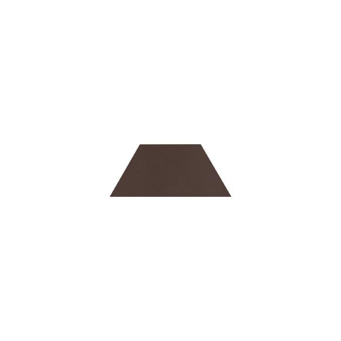 Текстура плитки Natural Brown Trapez 12.6x29.6