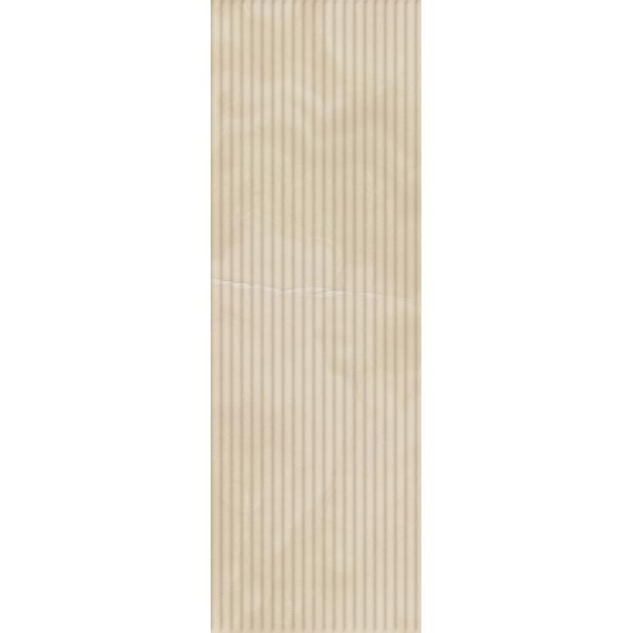 Текстура плитки Шарм Эво Оникс Вставка Вэйв 25x75